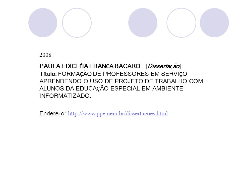 2008 PAULA EDICLÉIA FRANÇA BACARO [Dissertação]